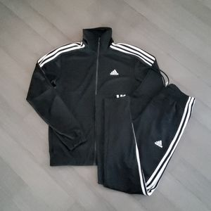 Adidas track suit size small